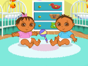 465429-gamesforgirlsclub-dora-s-playtime-with-the-twins